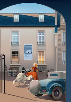 Les sublimes illustrations vectorielles d'Anta Alek Travel Illustration, Illustration Styles, Air Travel, Silhouette, Concept Art, Digital Art, Character Design, Louvre, Behance