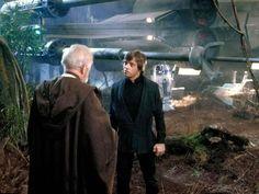 Star Wars - Return of the Jedi - Obi Won Kenobi and Luke Skywalker