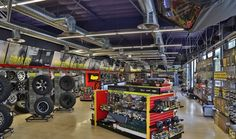 Five Low-Buck Methods To Improve Your Truck Accessory Store's Showroom Truck Accessories Store, Auto Parts Shop, Bed Liner, Double Team, Truck Bed, Car Shop, Car Wash, Showroom, Improve Yourself