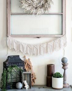 Macrame Wall hanging, macrame banner, modern macrame, small macrame Wall hanging, fall decor, Macrame Bunting, Christmas, Christmas bunting by KnotEllendale on Etsy https://www.etsy.com/listing/549237268/macrame-wall-hanging-macrame-banner