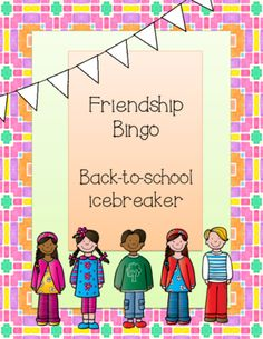 Students will get to know their classmates by asking fun and interesting questions about each other. Great icebreaker to get kids active and using language! Includes one version with picture clues for students who need more support. Teaching Activities, Teaching Resources, Teaching Ideas, Icebreakers For Kids, Teacher Created Materials, Elementary Teacher, Upper Elementary, Teacher Blogs, Going Back To School