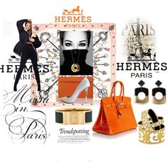 """Hermes: Trendspotting"" by melange-art on Polyvore"