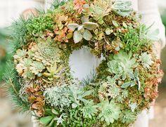 DIY: living wreath