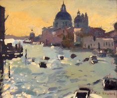 Ken Howard OBE is an honorary member of the Royal Society of British Artists and a member of the Royal Institute of Oil Painters.