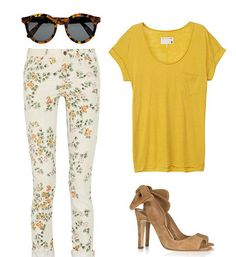 Spring Style. -- not loving the shoes but still really cute!