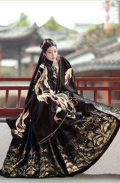 Chinese Clothing Traditional, Traditional Fashion, Traditional Dresses, Estilo Lolita, Fantasy Dress, Looks Style, Hanfu, Mode Inspiration, Lolita Fashion