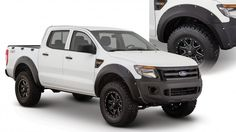 Our new #Ford Ranger T6 accessories include our Pocket Style Fender Flares and Ultimate BedRail and TailGate Caps.