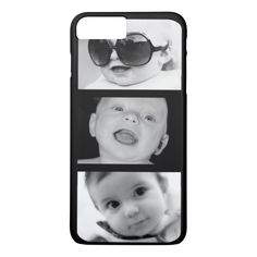 Create-Your-Own 3 Photo iPhone 7 Plus Case Style: Case-Mate Barely There iPhone 8 Plus Case This form-fitting, featherlight Case-Mate custom case provides full coverage to your Apple iPhone 8 Plus while still keeping your device ultra sleek and stylish. Iphone 6 Plus Case, Iphone Phone Cases, Iphone Case Covers, Iphone 8, Apple Iphone, Photo Collage Iphone, Iphone 7 Photos, Girl Phone Cases, 6s Plus