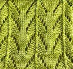 Lace Knitting, Knitting Needles, Knitting Patterns Free, Crochet Hook Sizes, Crochet Hooks, Lace Patterns, Stitch Patterns, Quick Knits, Seed Stitch