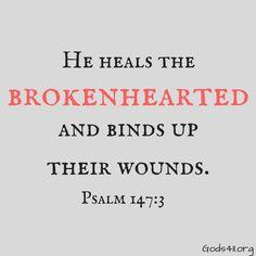 Psalm 147:3 | Bible Verses