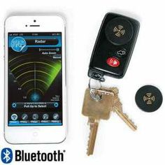 Lose your phone? Lose your wallet? Lose your keys? Stop the madness. Locate all these items with a radar app & these new Stick-N-Find Location Trackers. $49.99 comes with 2 trackers. $89.99 for 4 extra trackers.     Available at brookstone.com