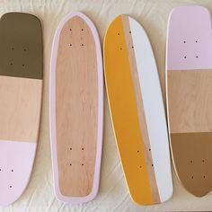 Painted Skateboard, Skateboard Deck Art, Penny Skateboard, Skateboard Design, Surfboard Art, Custom Skateboards, Vintage Skateboards, Cool Skateboards, Longboard Design