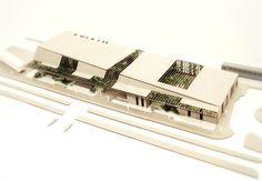 Triptychon: 1 ° Preis / 1 ° Lugar / Preis, Architekturmodell, Modell, Modell Source by Architecture Panel, Concept Architecture, Futuristic Architecture, Sustainable Architecture, Interior Architecture, Chinese Architecture, Interior Design, Roof Design, Facade Design