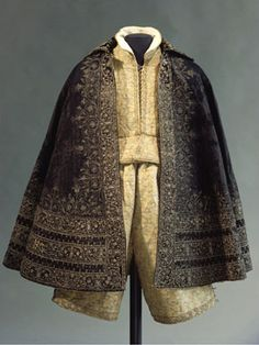 Wedding clothes for Duke John George I of Saxony, Italian (outer fabric), 1604–7. Rüstkammer, Staatliche Kunstsammlungen Dresden.