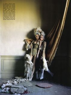 """Vogue Italy """"Lady Grey"""" by Tim Walker"""