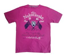 Nukutavake Brand Boys Pink Colour Half Sleeve T Shirt www.clothing-deck.com