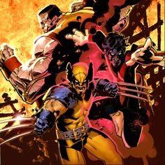 All-New X-Men Wolverine, Nightcrawler and Colossus by Chris Bachalo
