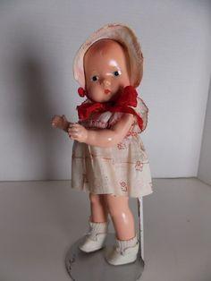 """7 1/2"""" Effanbee Baby Tinyette ~ Original!"""