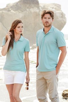 The Harper Hanna polos from Stedman Stars come in men's and women's styles