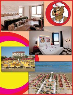 Hotel Bologna - Senigallia (An) - Italy Family Hotel dove l'orso Bo vi aspetta per rendere la vacanza dei bambini indimenticabile!