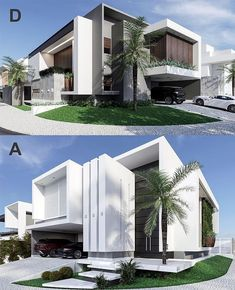 Likes, 31 Comments – House Exterior Designs ( on I… Modern Exterior House Designs, Modern House Facades, Modern Villa Design, Dream House Exterior, Modern Architecture House, Facade Architecture, Exterior Design, Bungalow Exterior, Residential Architecture