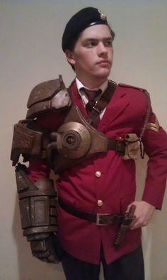 Steampunk Mechanical Arm by bmgillies.deviantart.com on @deviantART