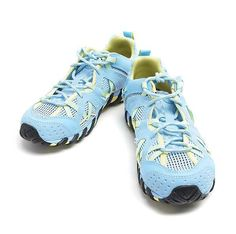 Merrell Waterpro Maipo Vibram Womens Outdoors Water Adventure Shoes Light Blue #Merrell #WaterShoes