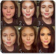 contouring before and after - Buscar con Google