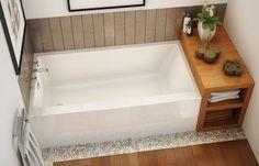"""MAAX Professional - Rubix 6030/6032 Alcove bathtub 60""""x30""""x20"""", 60 ..."""