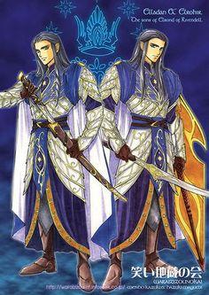 Elladan and Elrohir: The Sons of Elrond of Rivendell