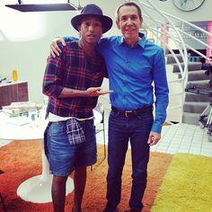 Pharrell + Jeff Koons