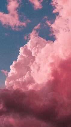 Pink Clouds Wallpaper, Night Sky Wallpaper, Sunset Wallpaper, Iphone Background Wallpaper, Colorful Wallpaper, Nature Wallpaper, Galaxy Wallpaper, Aesthetic Pastel Wallpaper, Aesthetic Backgrounds