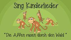 Die Affen rasen durch den Wald - Kinderlieder zum Mitsingen | Sing Kinde...