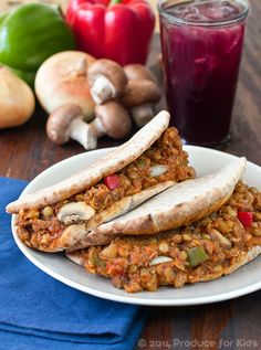 Easy Vegetarian Sloppy Joes