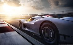 This is how the exterior of the Porsche 908-04 concept was created.