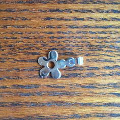 Delicate Sterling Silver Flower Pendant - pinned by pin4etsy.com
