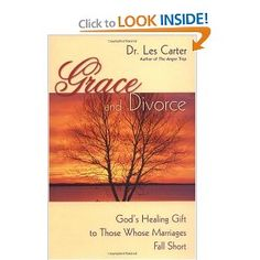 Thank you God for your grace. Thank you Dr. Les Carter for this book!