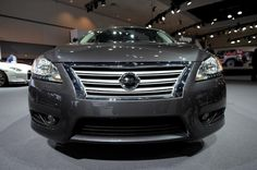 2013 Nissan Sentra at the 2012 LA Auto Show | © Morgan J Segal Photography - All Rights Reserved.