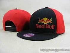99f22598e0b Cheap Wholesale Red Bull Snapback Hats Adjustable Cap Black Red (New Era)  001 for slae at US 8.90  snapbackhats  snapbacks  hiphop  popular  hiphocap  ...