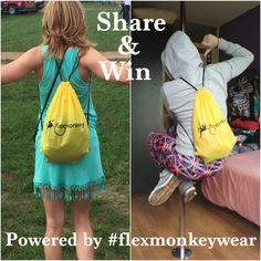 Share & win op de facebook-pagina van FlexMonkey - clothing