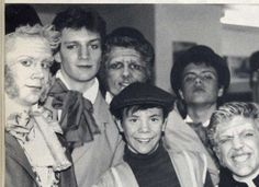 Nathan Fillion in a school play