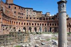 Fun Fact: Trajan's Market was the world'sfirst known shopping mall. Here they had a variety of shops and services and two libraries inside. #BerkowitzDevelopmentGroup #ShopDadelandStation #Market #First
