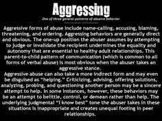 Aggressing. A recovery from narcissistic sociopath relationship abuse