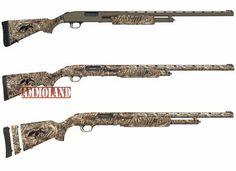 Mossberg Duck Commander Series Pump-Action Shotguns Top-Btm Flex500 Max5, 553 Max5, 500SBTM