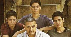 Poster of Dangal Movie Aamir Khan Starrer is On girl Power