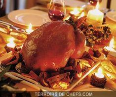 Chapon aux morilles et foie gras Recette du chef Vincent Bricaud pour vos menus de fete