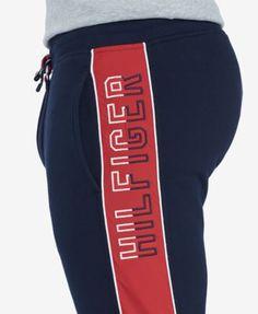 Tommy Hilfiger Men's Dan Sweatpants - Blue S Track Pants Mens, Mens Jogger Pants, Mens Sweatpants, Sport Pants, Comfortable Mens Dress Shoes, Cool Outfits For Men, Big Men Fashion, Fashion Tips, Mens Big And Tall