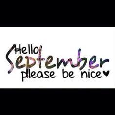 Hallo september :)