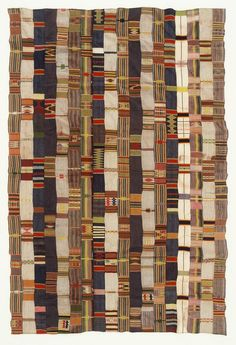 Africa | Ewe Cloth from Ghana | Karun Collection
