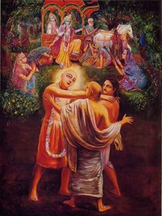 """""""Unconditional love means that the beloved may or may not reciprocate that love, but it makes no difference to the lover. This is the standard of love taught by Lord Caitanya."""""""